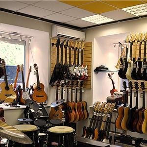 Музыкальные магазины Коксового